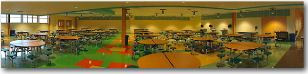 Brewer Community School Cafeteria