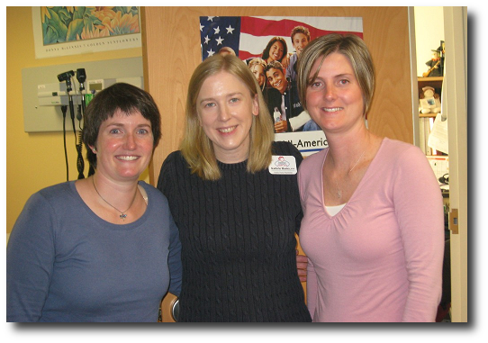 Emily Barrington, LCPC-C, Counselor; Kathrin Hastey, FNP, Nurse Practitioner; Dusty Hillman, CMA, Medical Assistant